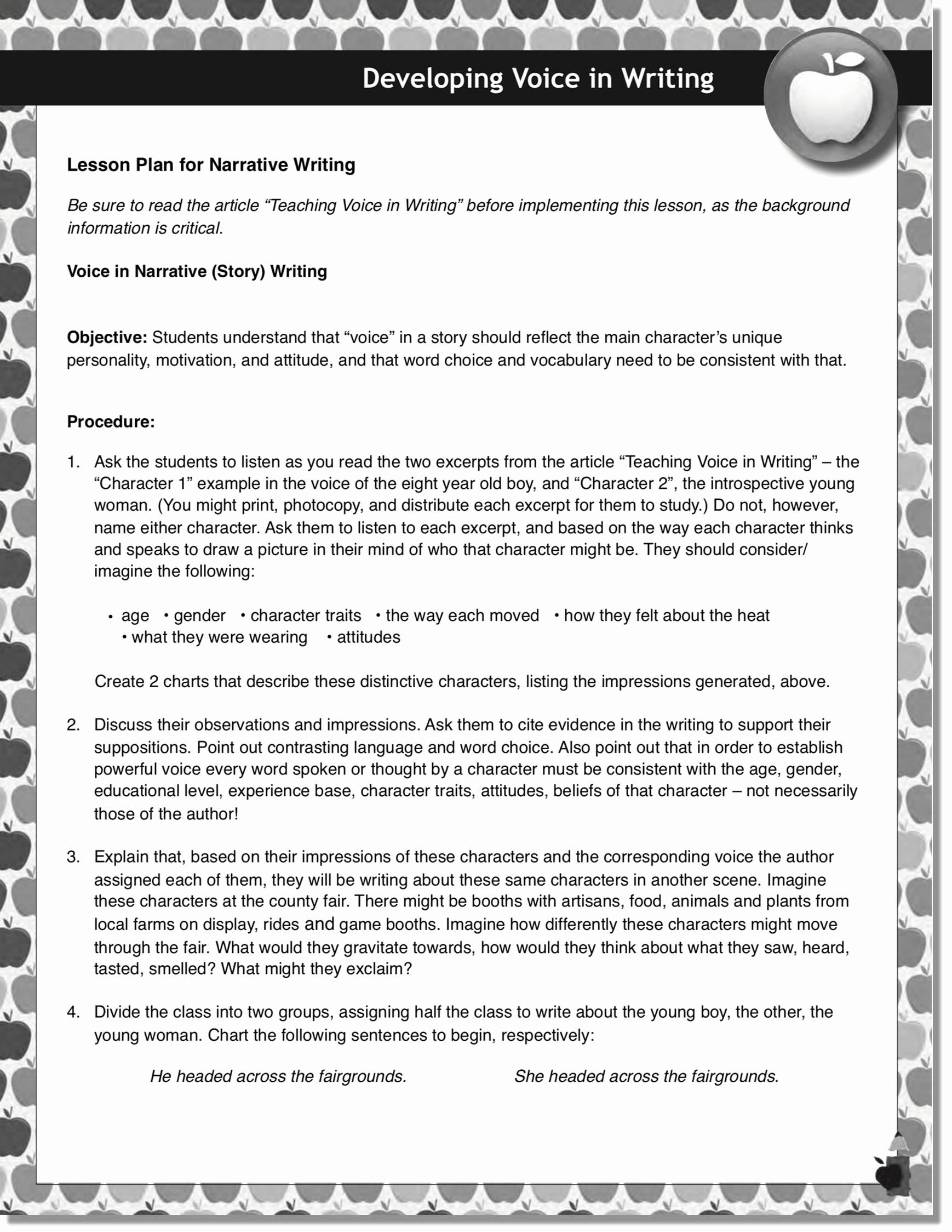 Vocal Lesson Plan Template Elegant the 2 Voices In Writing and How to Teach them Empowering