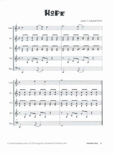 Vocal Lesson Plan Template New Marimba Mojo More Zimbabwean Style Pieces for orff