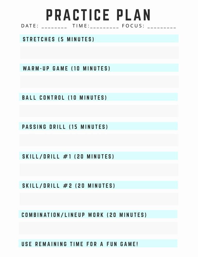 Volleyball Practice Plan Template Beautiful Unit Plan islanuevodiarioco – Blank