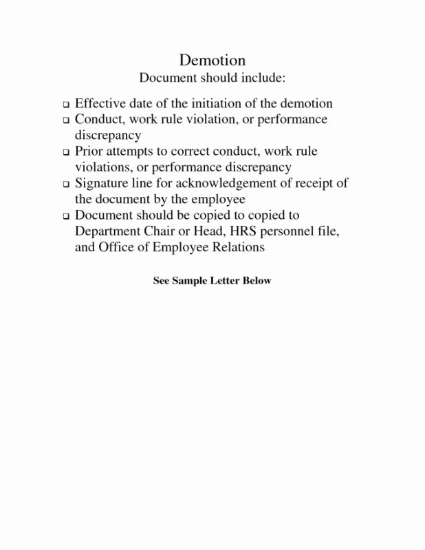 Voluntary Demotion Letter Template Best Of Sample Letter Voluntary Demotion Position