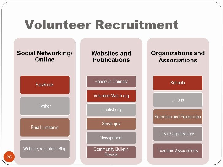 Volunteer Recruitment Plan Template Fresh Project Planning Volunteer Engagement