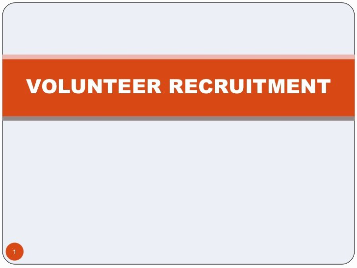 Volunteer Recruitment Plan Template Unique Volunteer Recruitment