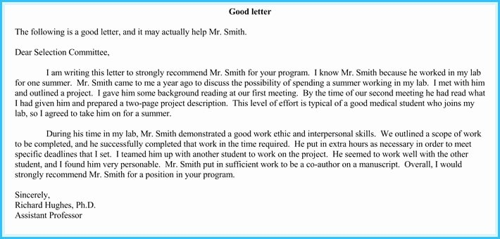 volunteer reference letter samples