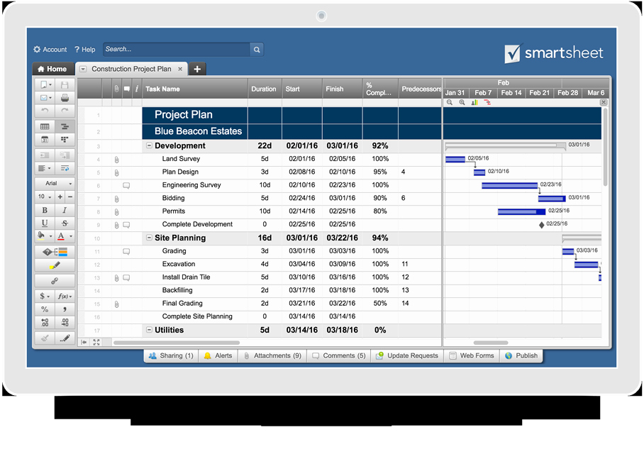 Website Project Plan Template Beautiful Free Construction Project Management Templates In Excel