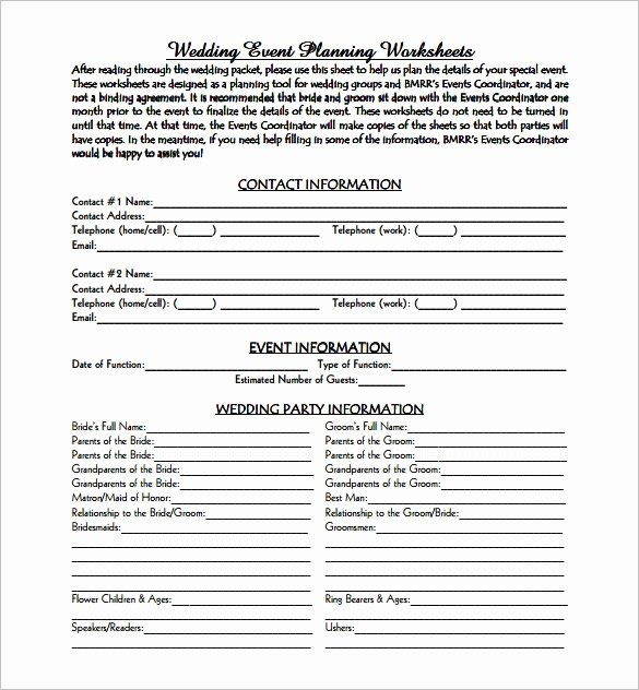 Wedding Venue Business Plan Template Inspirational event Planning Template 9 Free Word Pdf Documents
