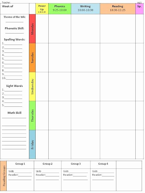 Weekly Lesson Plan Template Awesome Best 10 Lesson Plan Templates Ideas On Pinterest