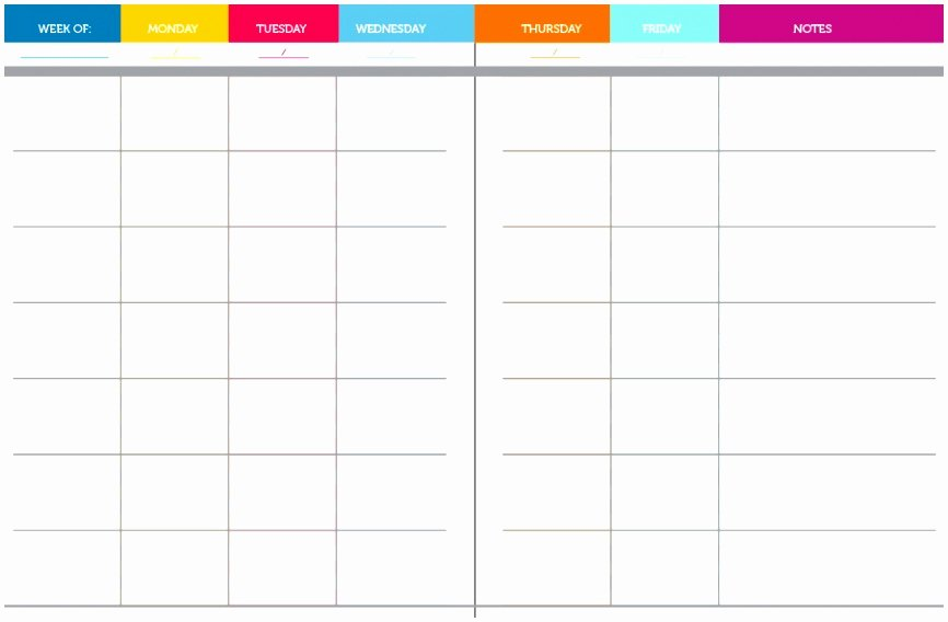 Weekly Lesson Plan Template Elementary Fresh 10 Weekly Lesson Plan Templates for Elementary Teachers