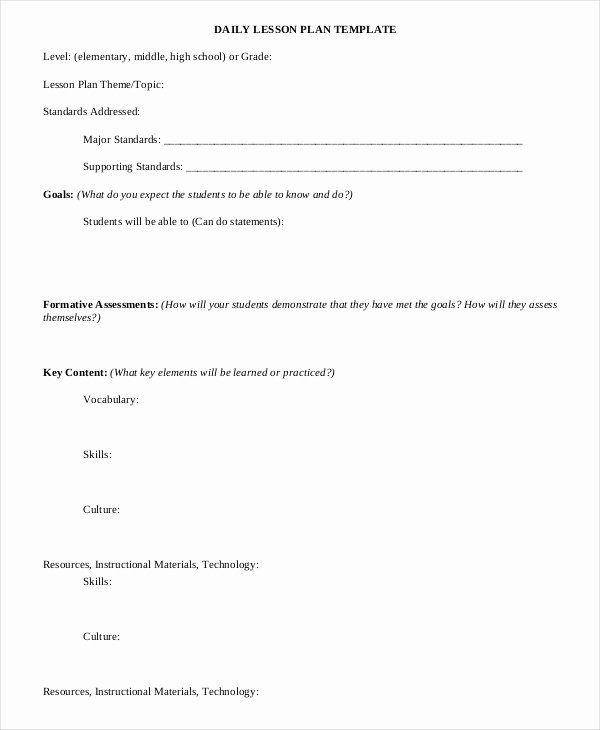 Weekly Lesson Plan Template Word Awesome Lesson Plan Template 17 Free Word Pdf Documents