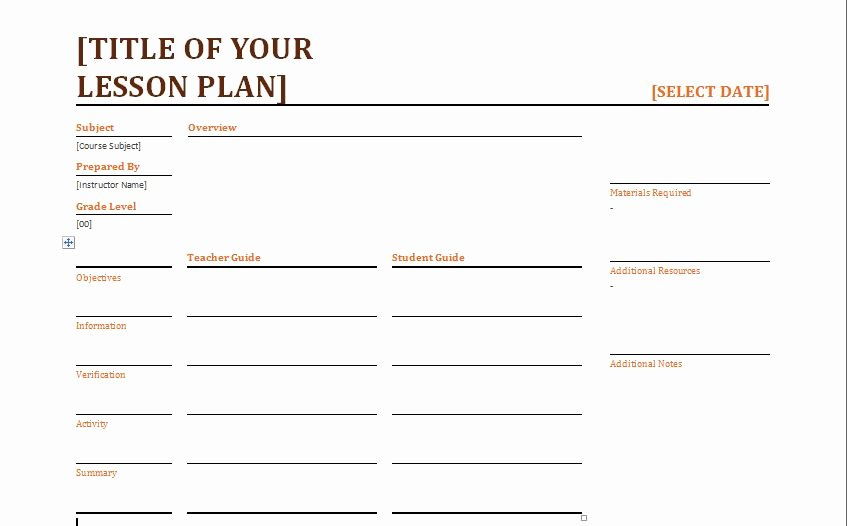 Weekly Lesson Plan Template Word Best Of Teacher Daily Lesson Planner Template