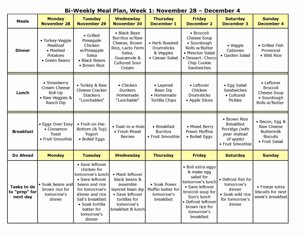 Weekly Meal Plan Template Elegant This Week S Meal Plan is Up and Includes Links to More