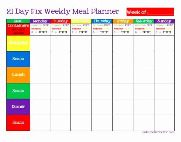 Weekly Meal Plan Template Word New 5 Weekly Diet Plan Template Uieoe