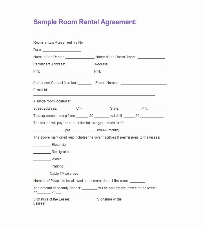 Well Share Agreement Elegant 42 Rental Application forms & Lease Agreement Templates