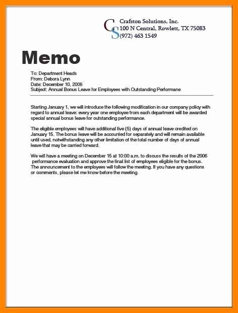 Well Share Agreement Lovely Casual Memo Letter Template