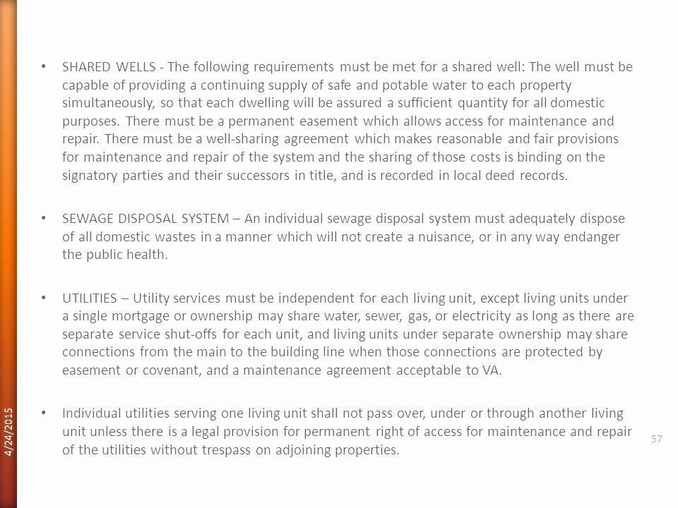 Well Share Agreement Lovely Va Home Loans 4 12 Ppt