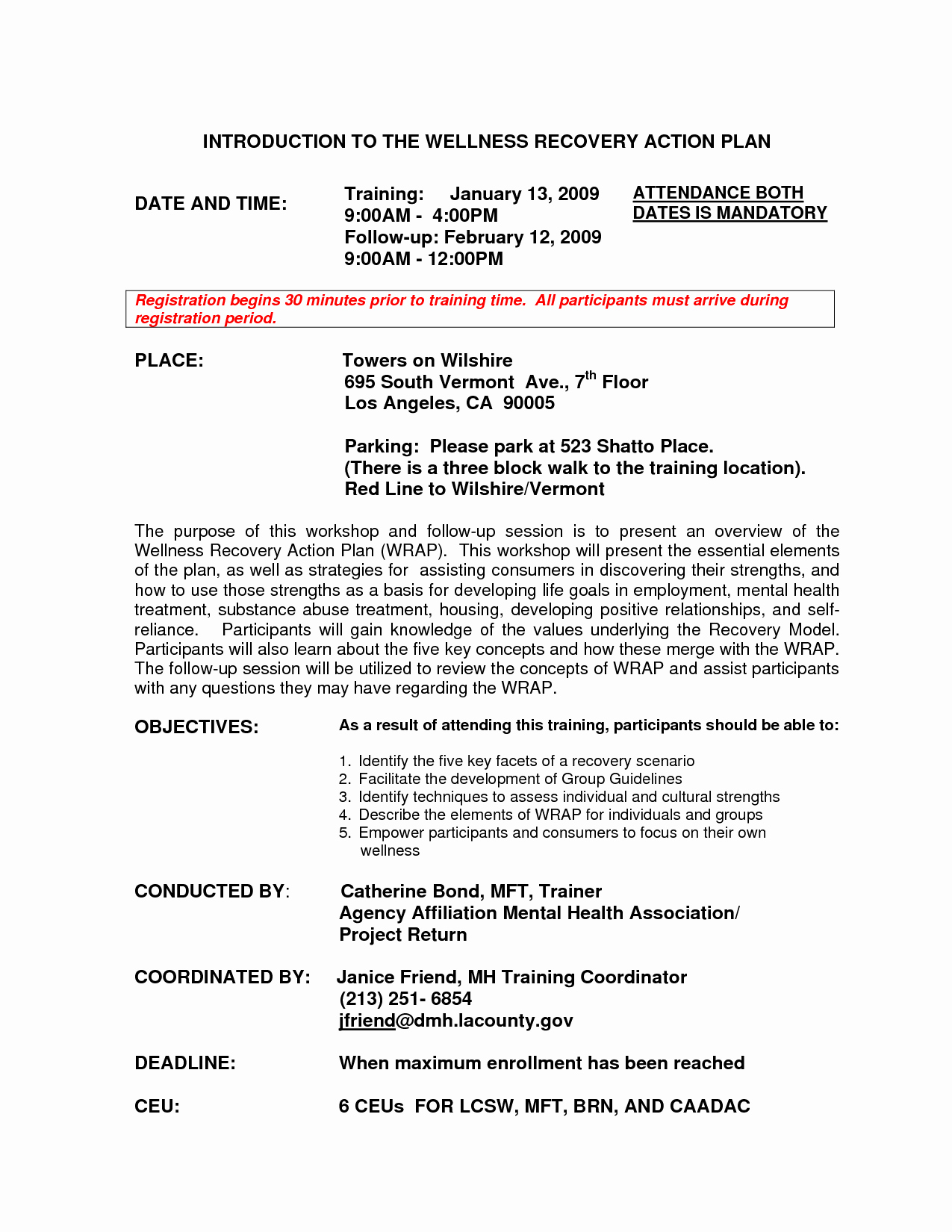 Wellness Recovery Action Plan Template Unique 9 Best Of Wellness Recovery Action Plan Worksheets
