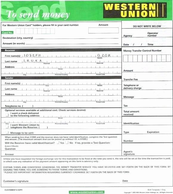 Western Union Fake Receipt Generator Awesome Western Union Receipts Fake Money order Receipt Receipt