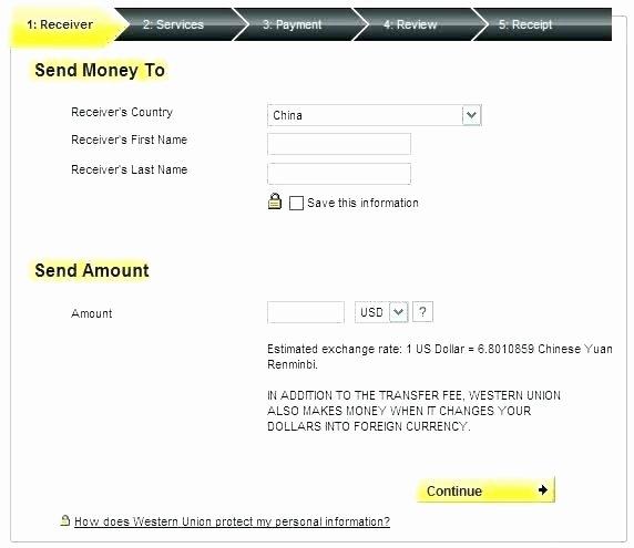 Western Union Fake Receipt Generator Inspirational Western Union Online Receipt – Unicteeub