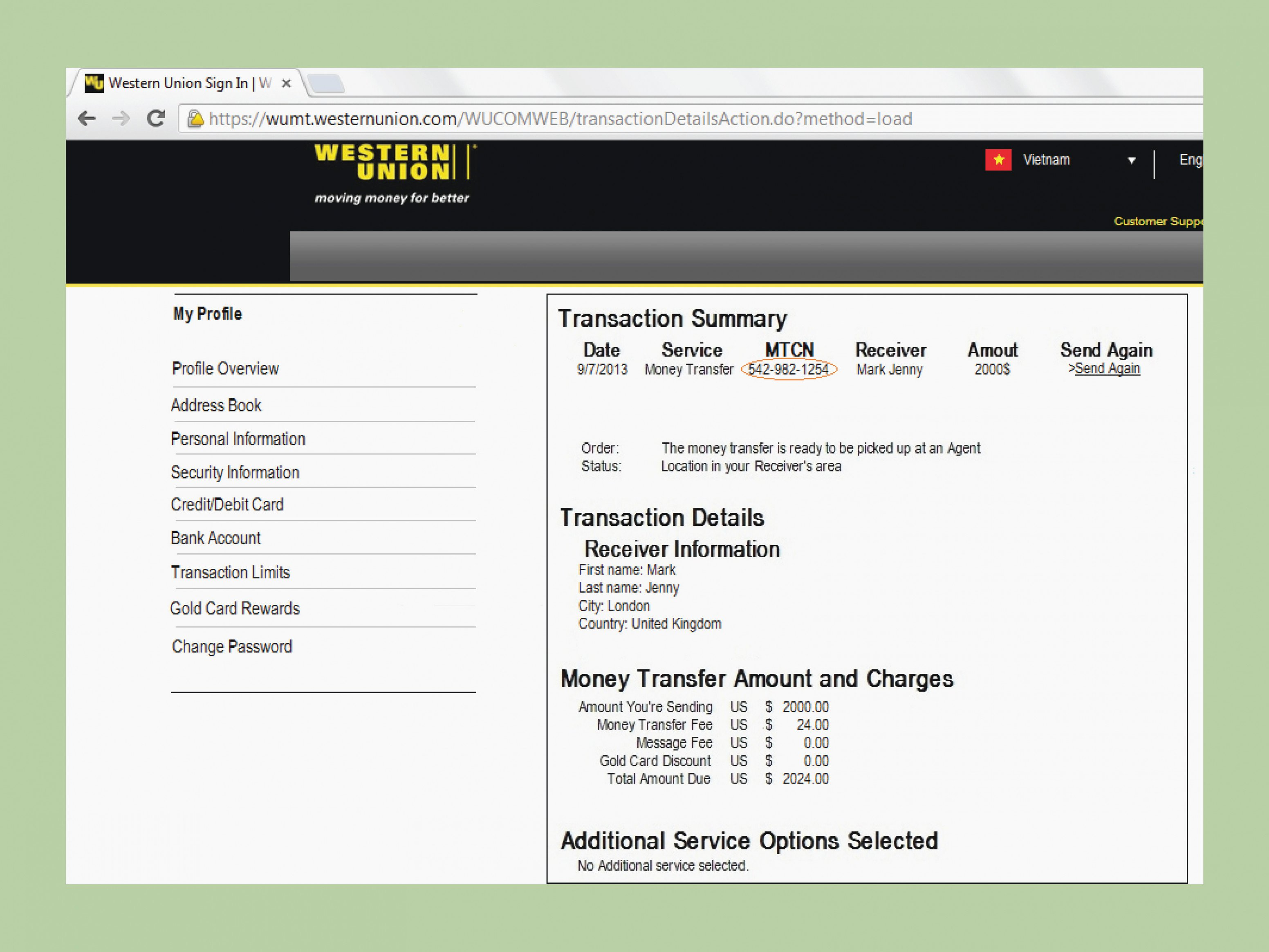 Western Union Receipt Generator New the Death Fake Western