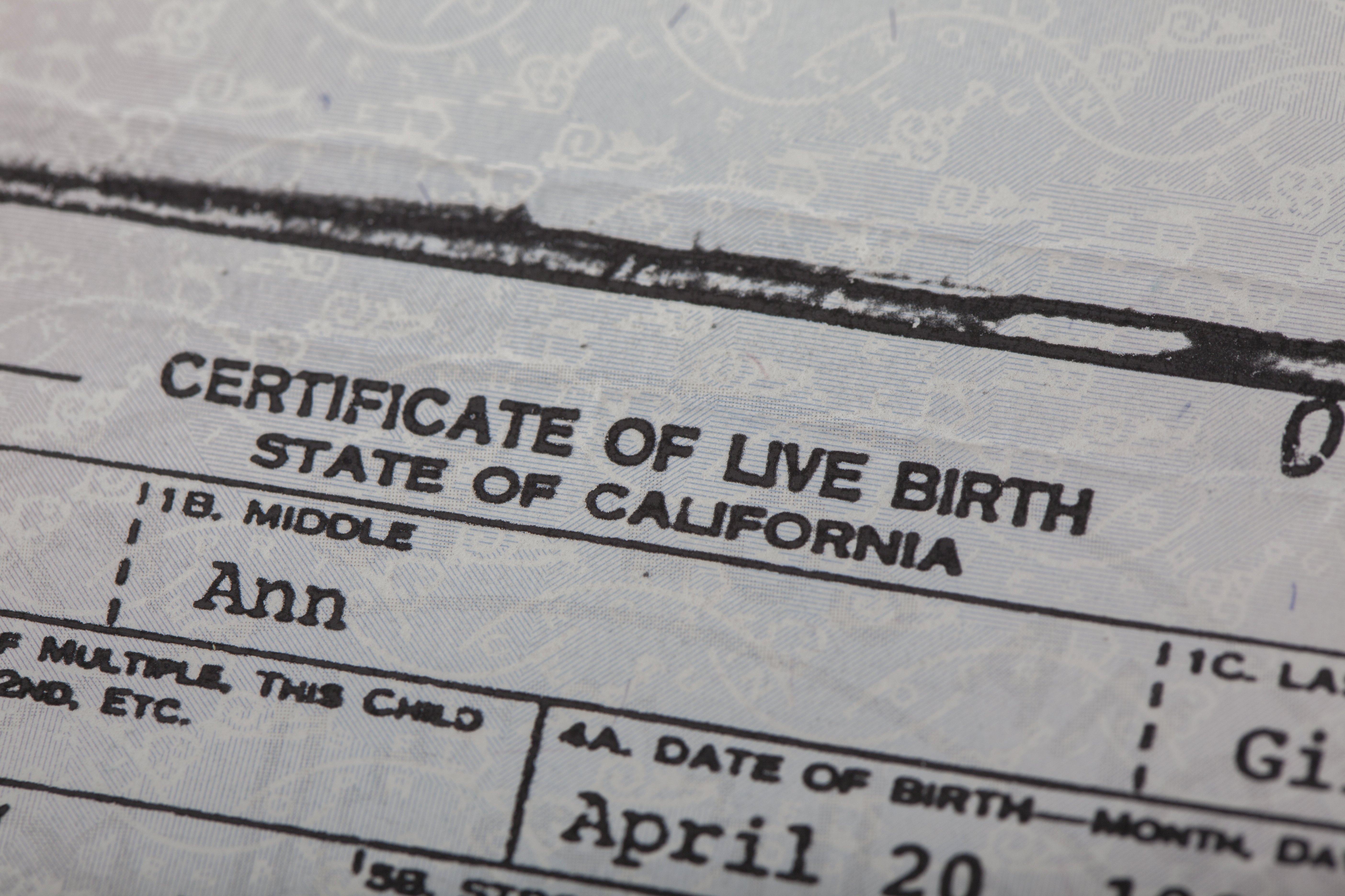 What Does A California Birth Certificate Look Like Awesome Vital Records Obtaining Certified Copies Of Birth & Death