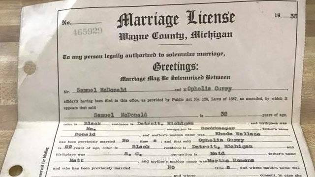 What Does A California Birth Certificate Look Like Awesome Woman Hopes to Find Family Of Lost Michigan Marriage