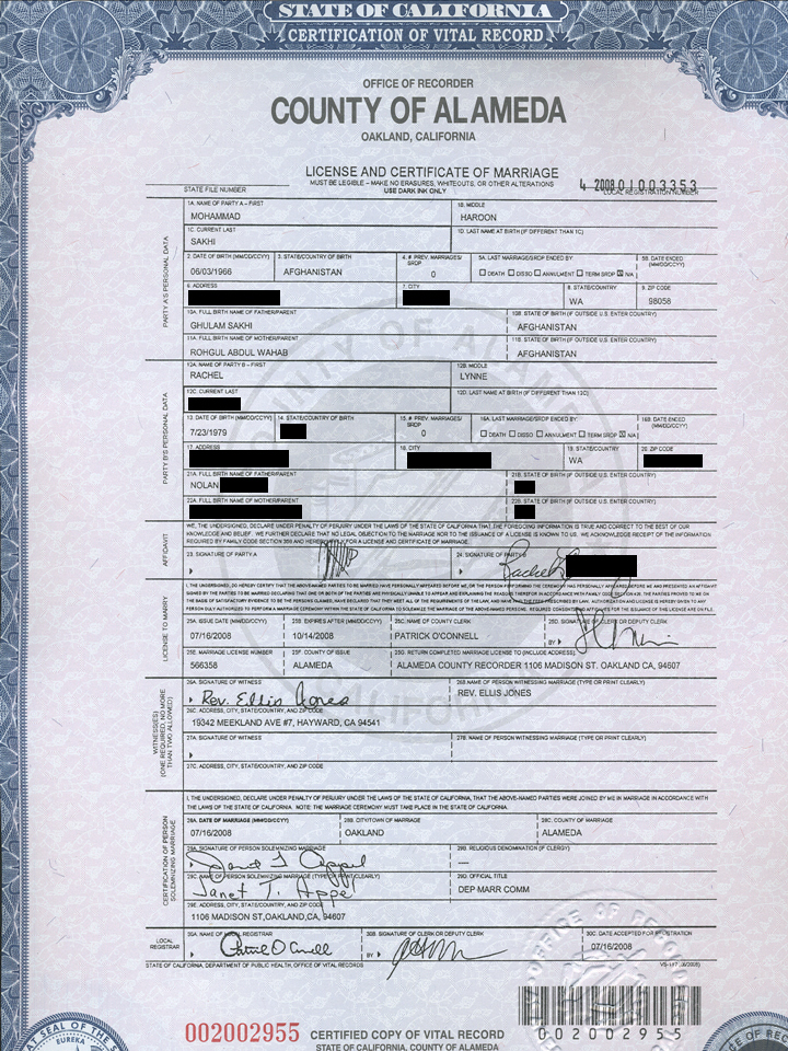 What Does A California Birth Certificate Look Like New British Expats Usa Uk Passport Questions From A Usc