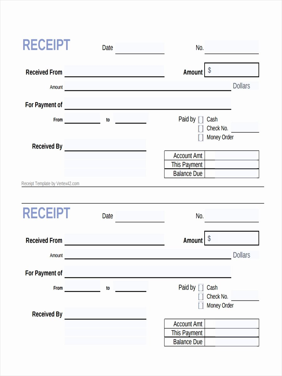 What is A Cash Receipt Awesome 26 Free Receipt Examples & Samples