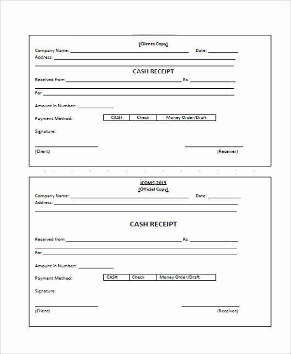 What is A Cash Receipt Best Of 8 Cash Receipt Templates Free Sample Example format