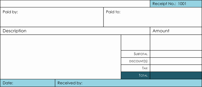 What is A Cash Receipt Lovely 21 Free Cash Receipt Templates for Word Excel and Pdf