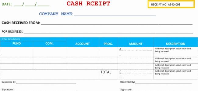 What is A Cash Receipt Lovely Cash Receipt Template 5 Printable Cash Receipt formats