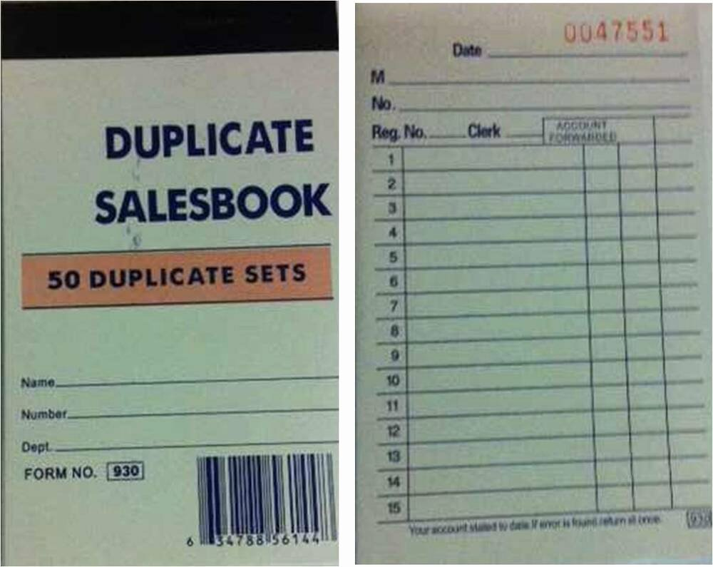 Where to Buy Receipt Books Best Of 5 Small Sales order Receipt Invoice Books 250 Duplicate