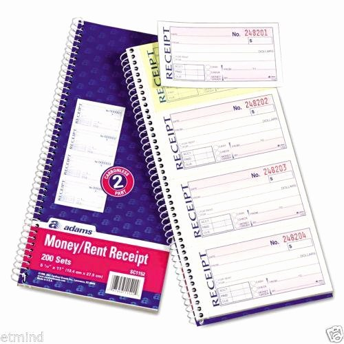 Where to Buy Receipt Books Inspirational Receipt Book forms & Record Keeping