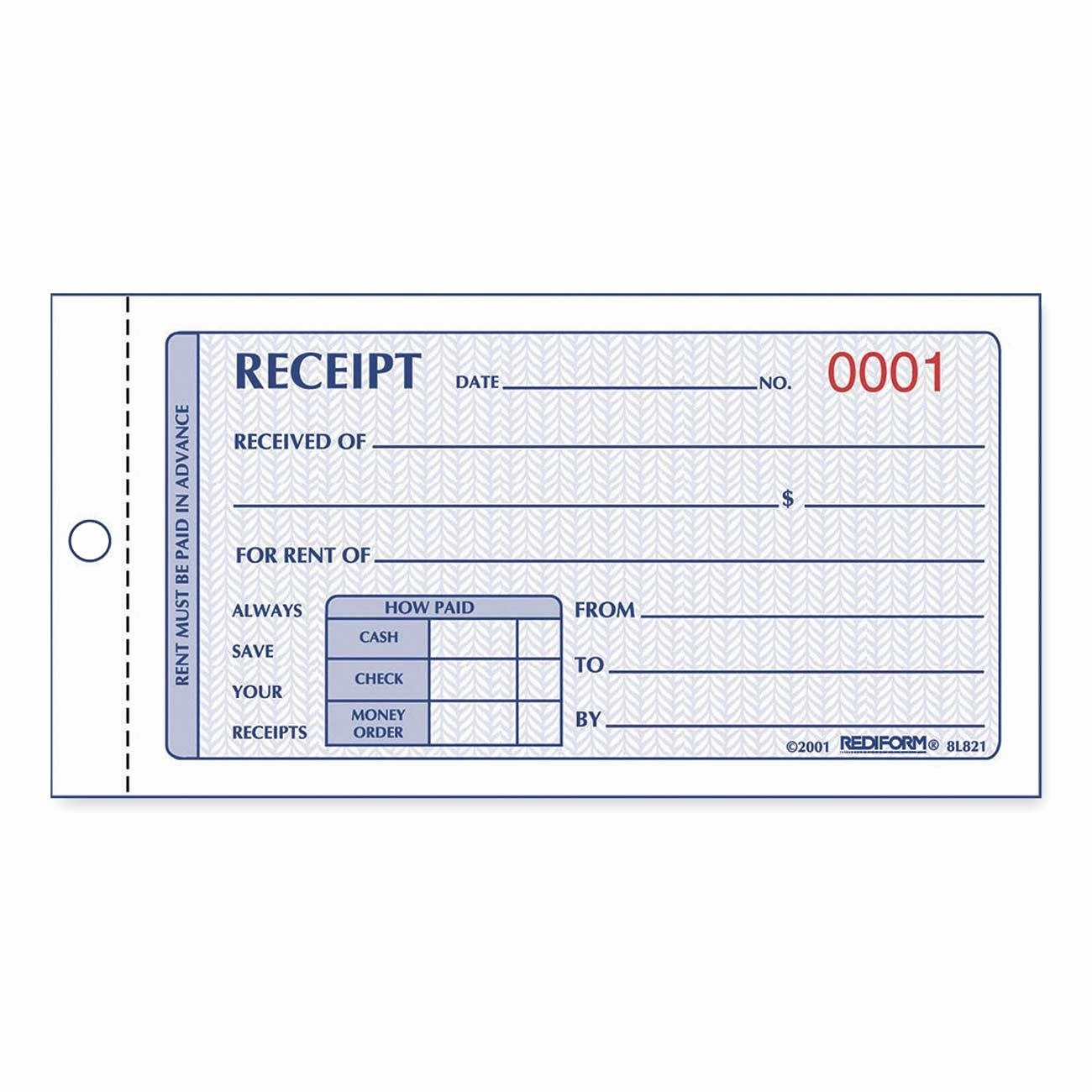 Where to Buy Receipt Books Lovely 7 Best Of Rent Receipt Book Template Rent Receipt