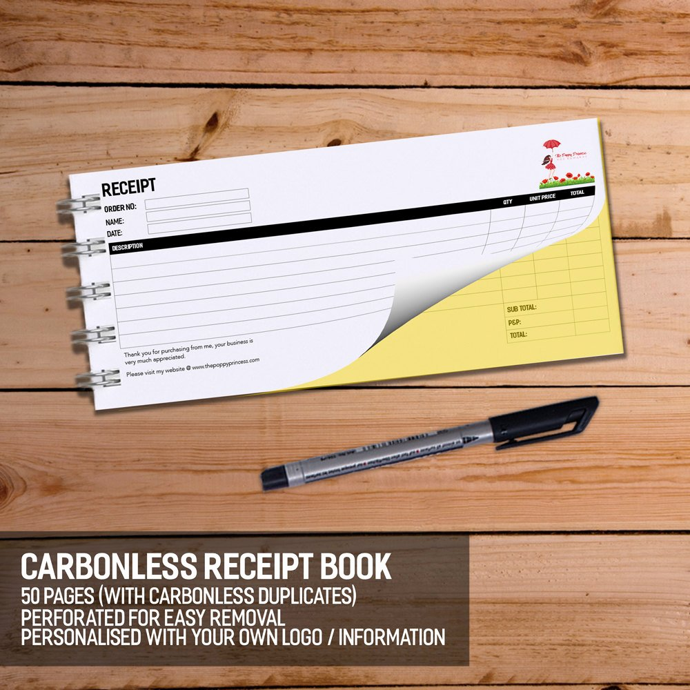 Where to Buy Receipt Books New Business Receipt Book Carbonless 2 Ply