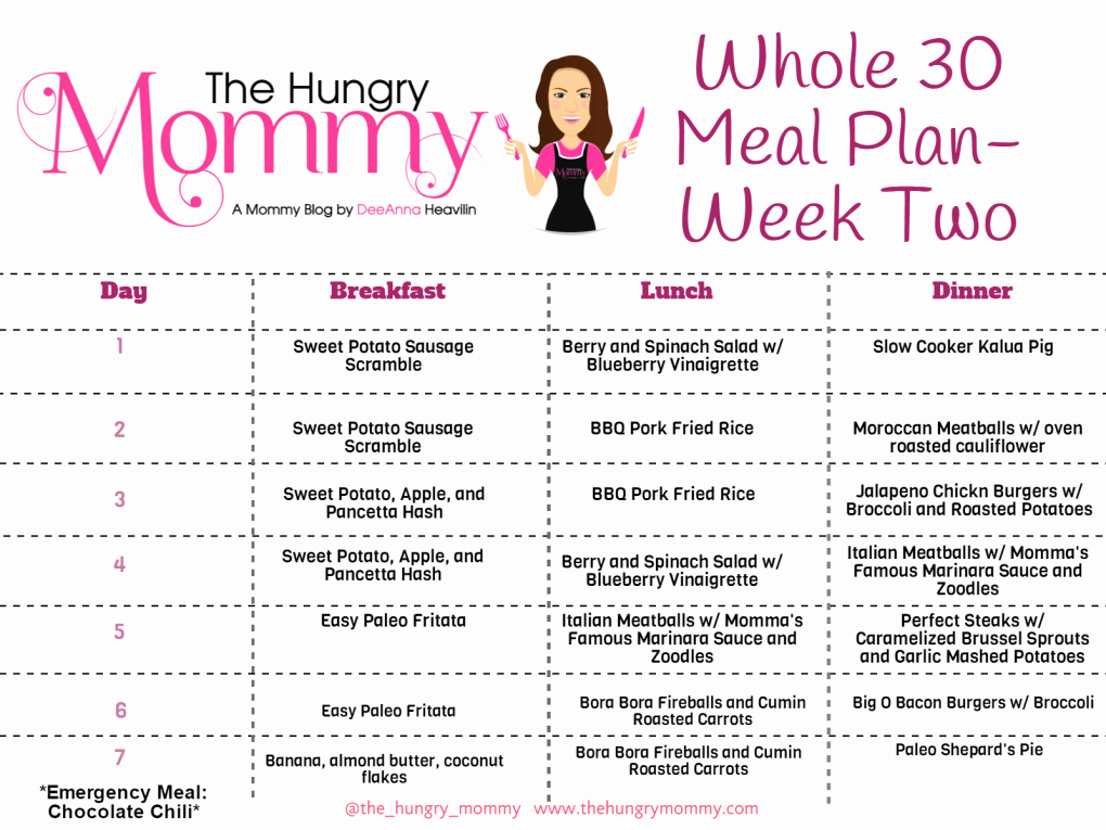 Whole30 Meal Plan Template New Roundup whole30 Meal Plans and Recipes