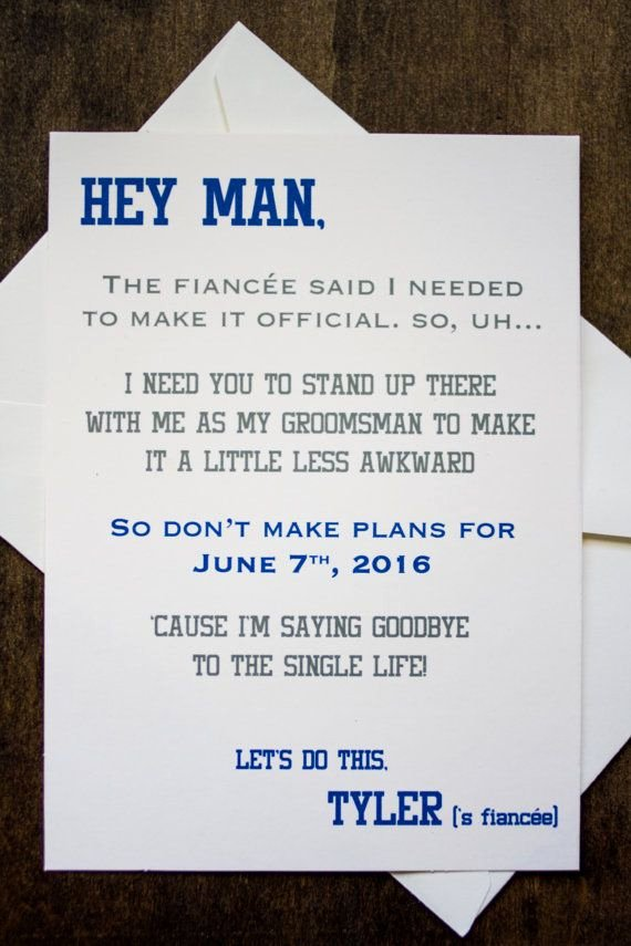 Will You Be My Bridesmaid Letter Template Fresh Groomsman Card Invite Will You Be My Groomsman Funny In