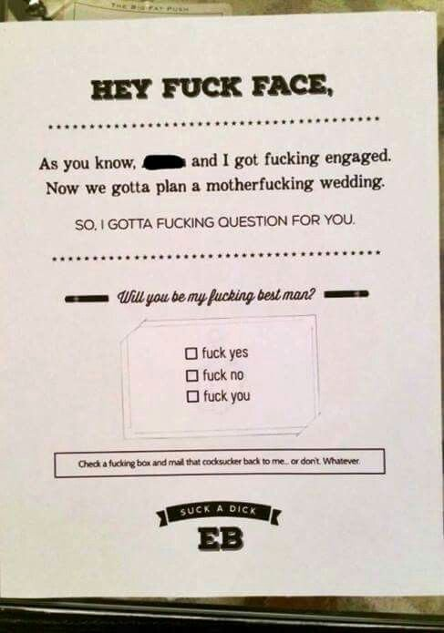 Will You Be My Bridesmaid Letter Template Lovely Best Man Invite Done Well Hahaha