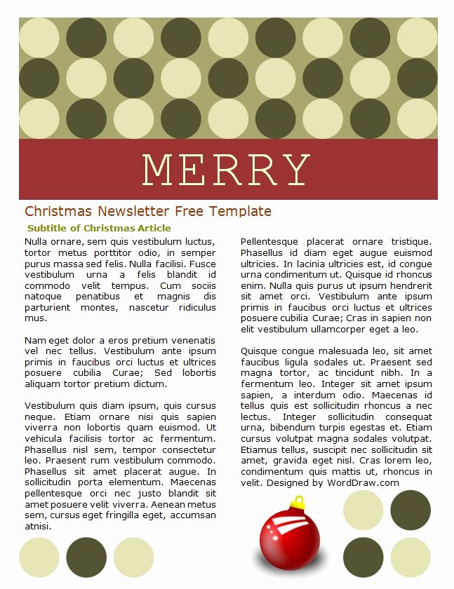 Word Christmas Letter Template Awesome 49 Free Christmas Letter Templates that You Ll Love