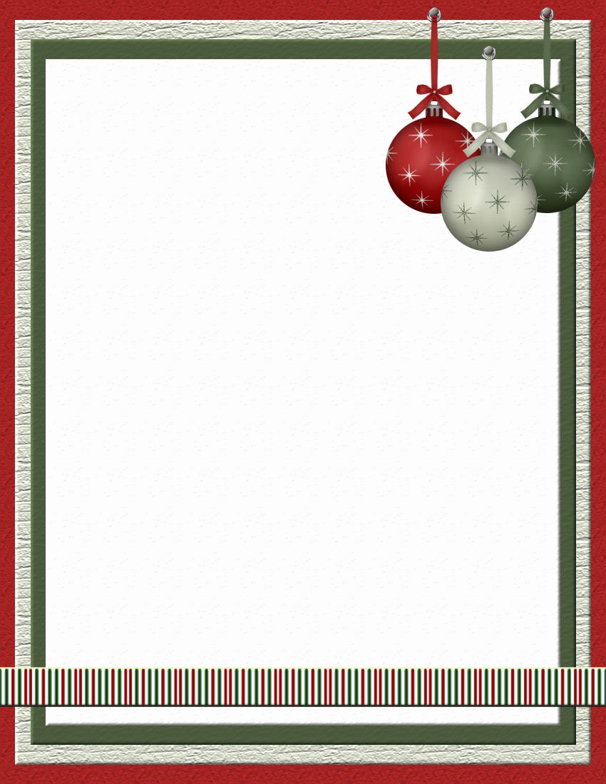 Word Christmas Letter Template Beautiful Christmas 2 Free Stationery Template Downloads