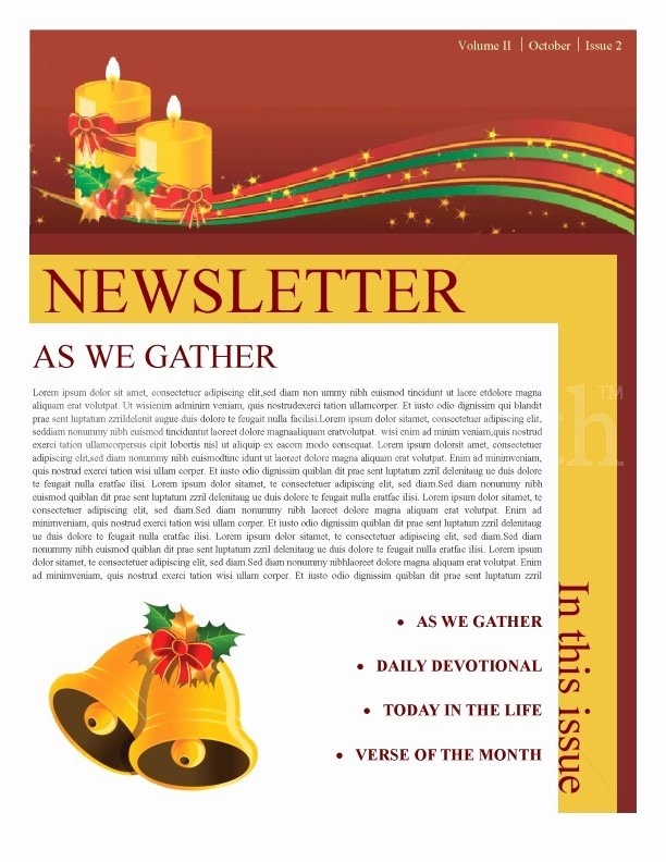 Word Christmas Letter Template Beautiful Christmas Newsletter Template