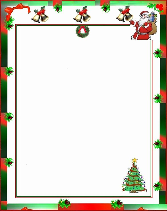 Word Christmas Letter Template Best Of 17 Christmas Paper Templates Doc Psd Apple Pages