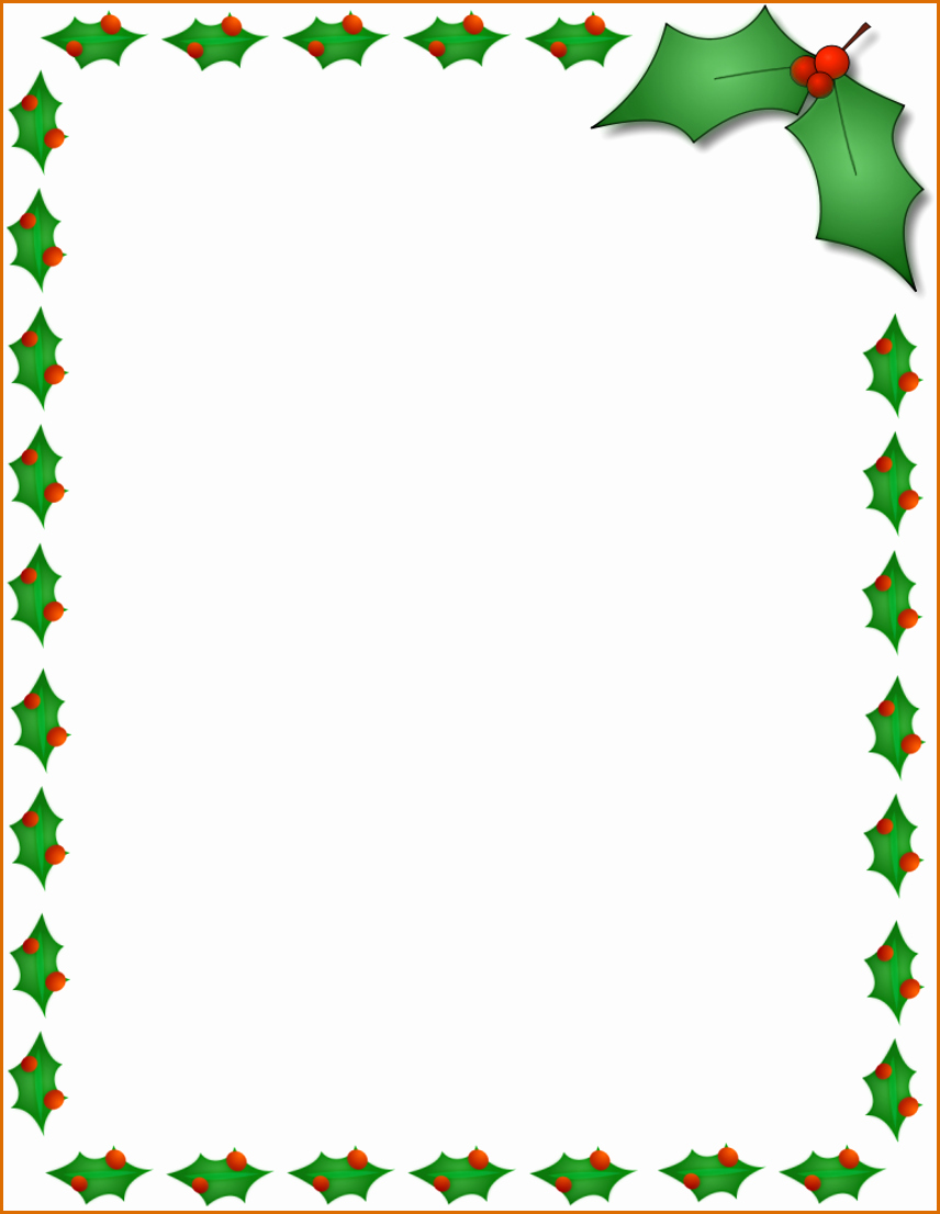 Word Christmas Letter Template Fresh 12 Free Christmas Templates for Word