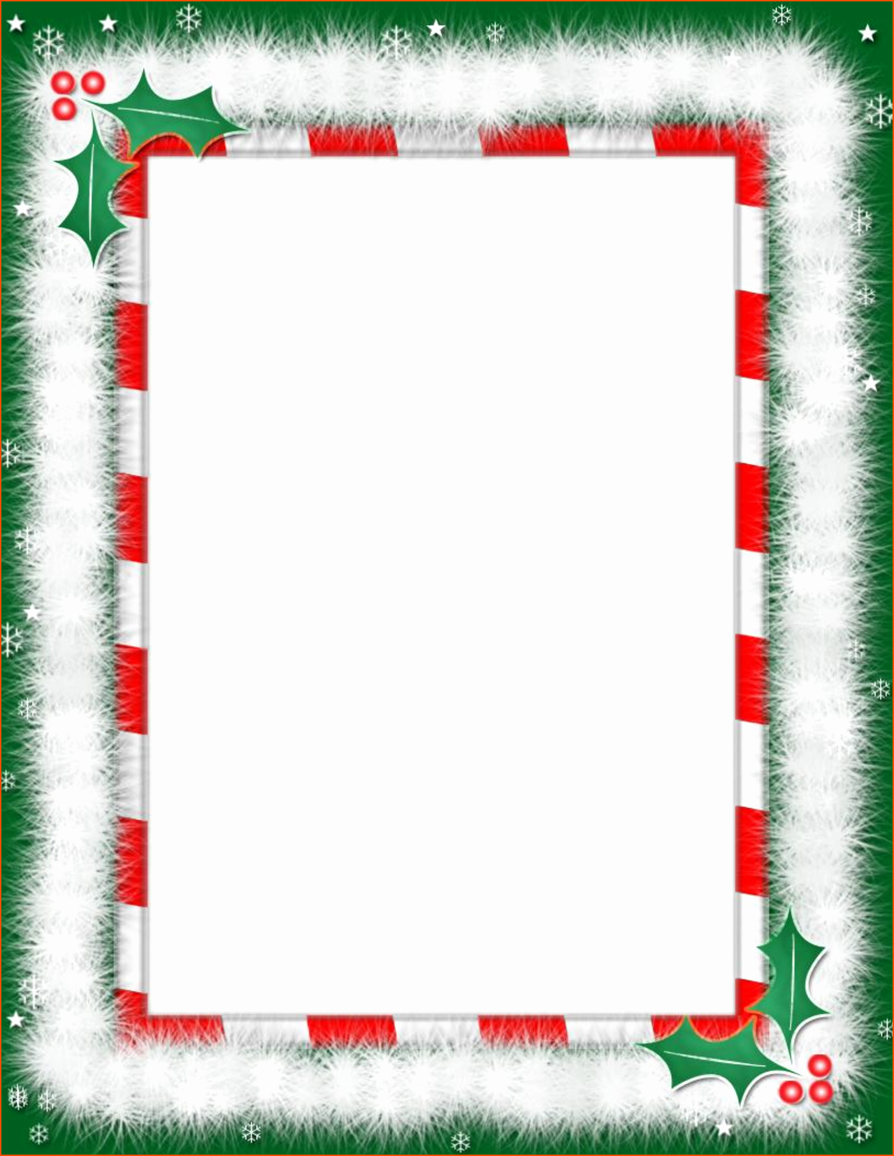 Word Christmas Letter Template Fresh 6 Christmas Templates for Word Bookletemplate