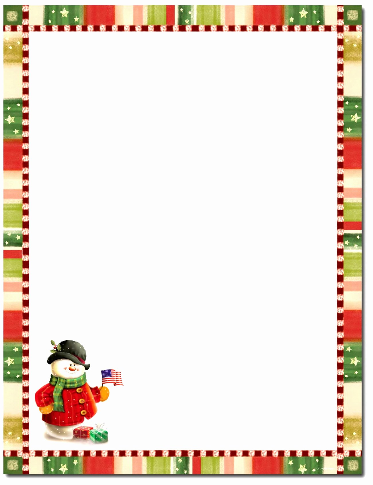 Word Christmas Letter Template Lovely 5 Christmas Border Templates for Word Yrevt