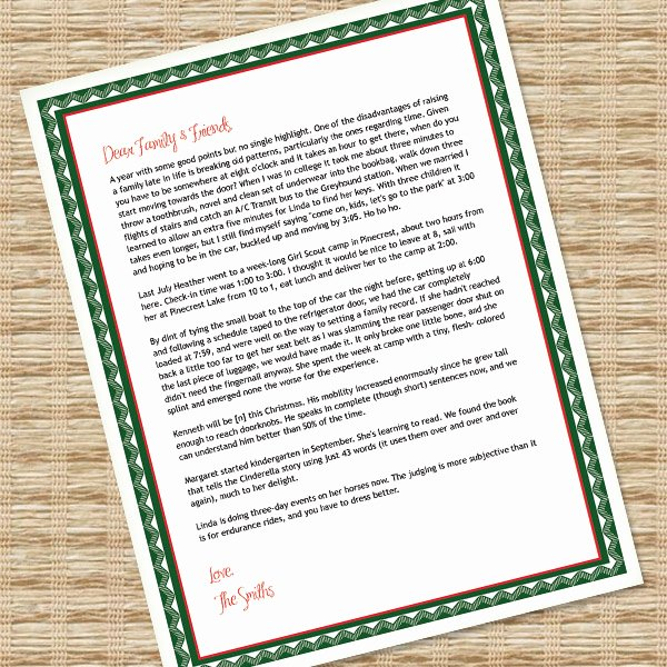 Word Christmas Letter Template Lovely Printable Christmas Letter Paper – Microsoft Word Template