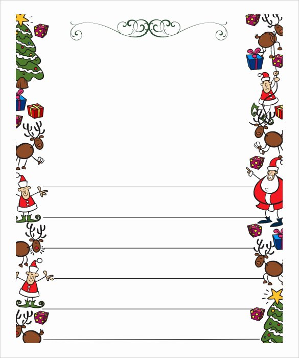 Word Christmas Letter Template Luxury 13 Christmas Letter Templates Word Apple Pages Google