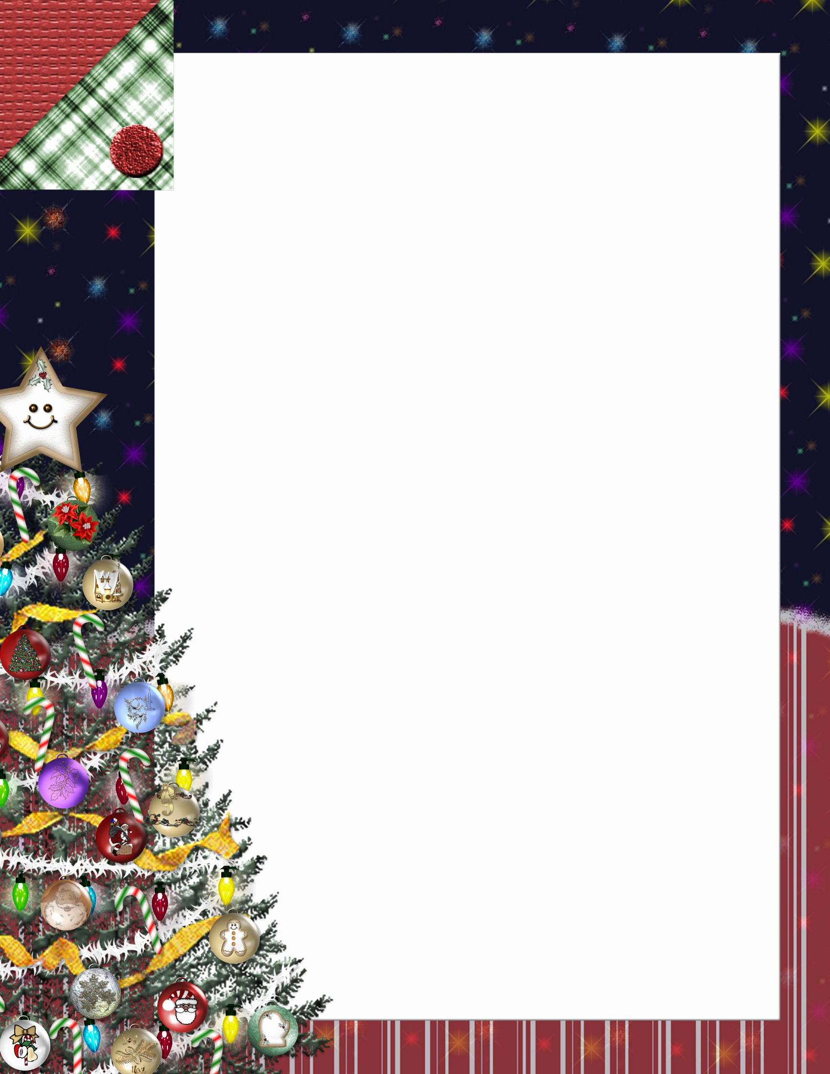 Word Christmas Letter Template New Christmas 1 Free Stationery Template Downloads