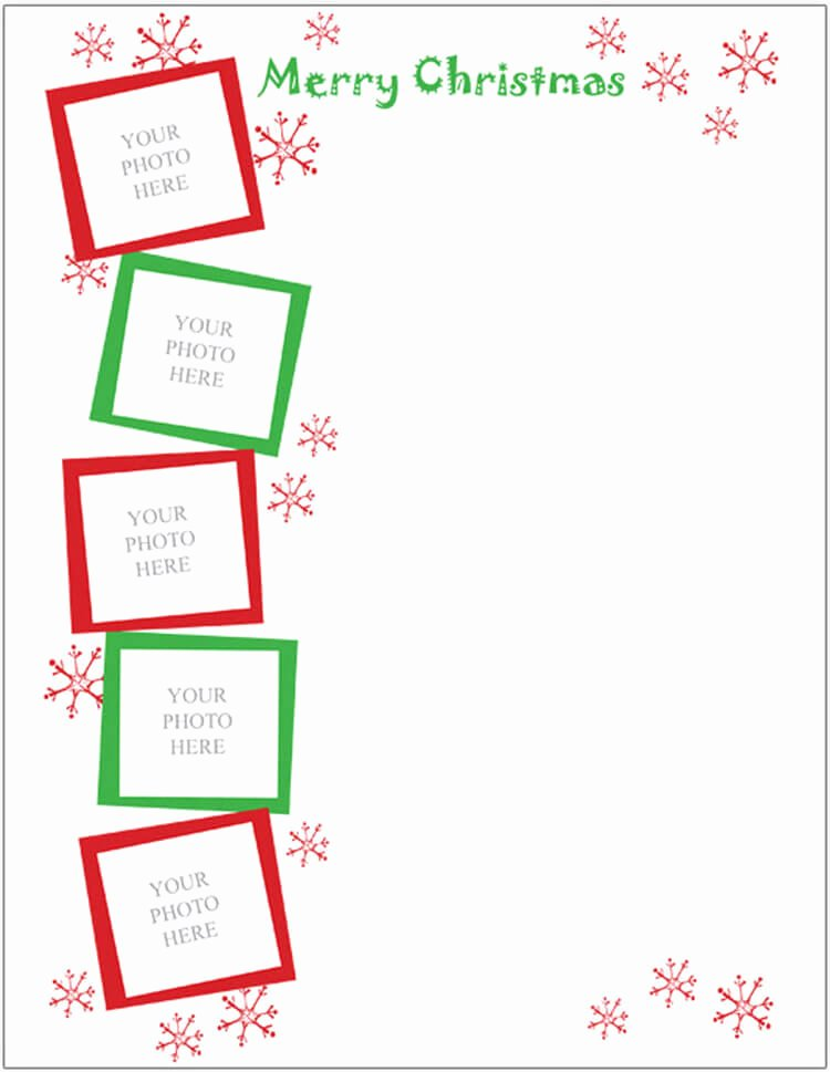Word Christmas Letter Template Unique 17 Christmas Letter Templates Free Psd Pdf Word format