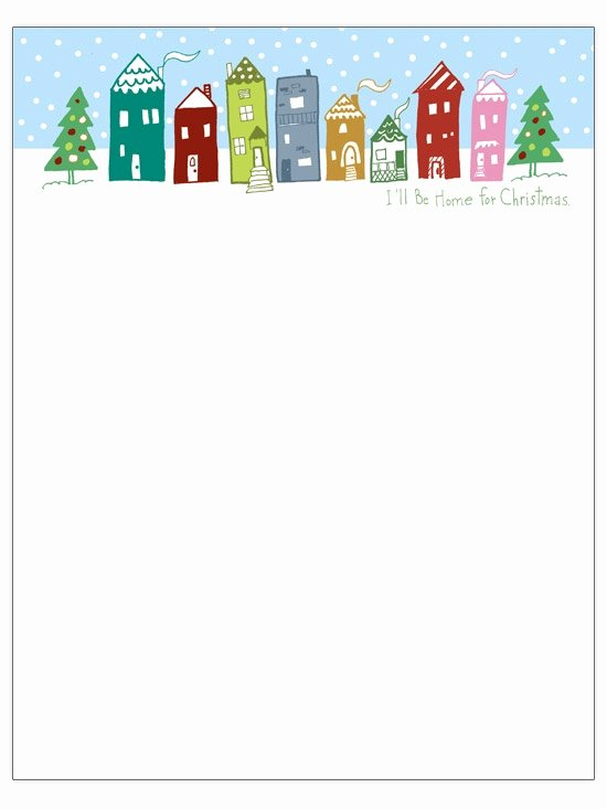 Word Christmas Letter Template Unique Word Christmas Letter Template Letter Of Re Mendation