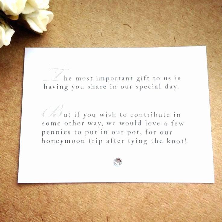 Wording for Gift Certificate Fresh Monetary Gift Wording for Baby Shower