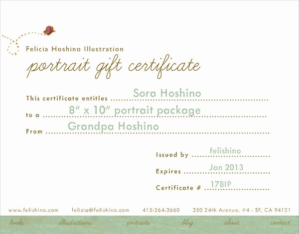Wording for Gift Certificate Luxury Sample T Certificate Wording Frompo